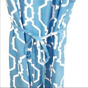 Escapada Halter Light Blue Dress
